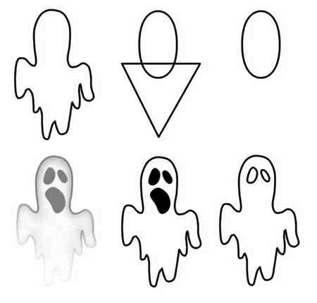 Comment dessiner un fantôme