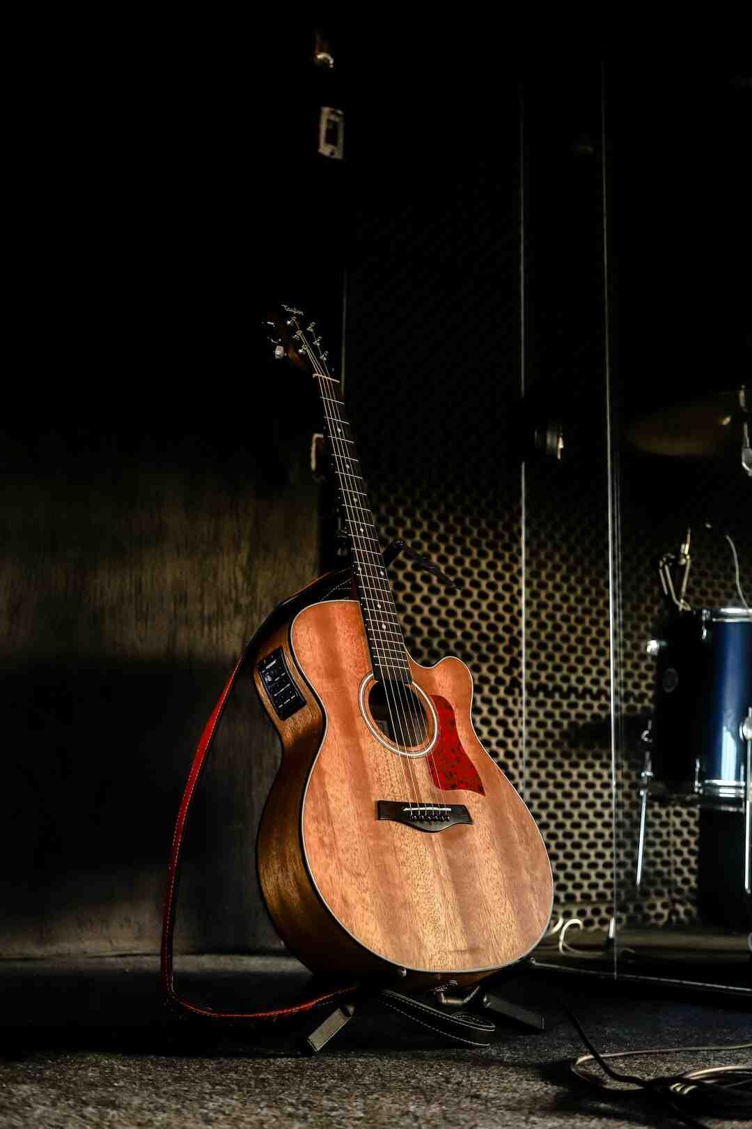 Comment s'accorder en ré guitare ?